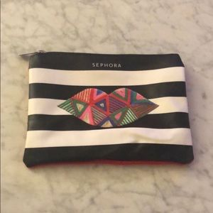 NEW Sephora Lips Make-Up Bag - limited edition.